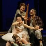 上から Valentina Kutzarova(アンジェリーナ),Shavleg Armasi(ドン・マニフィコ), 吉川日奈子(クロリンダ),Okka von der Damerau(ティスベ)