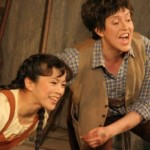 Ina Yoshikawa (Gretel), Julia Faylenbogen (Hänsel)
